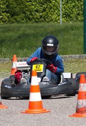 Jugendkart Slalom